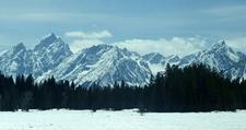 Tetons During Winter