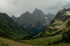 Teton Valley Trail - Grand Tetons - Wyoming - USA