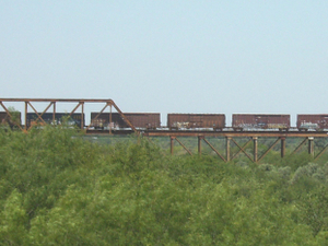 Texas-Mexican Railway Puente Internacional