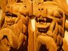 Thai Lion Carvings