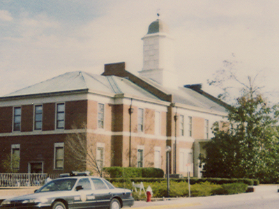 The 1904 Onslow County Courthouse On The Corner Of Old Bridge An