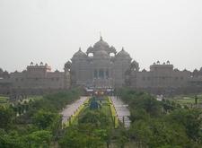 The Akshardham Complex In Delhi