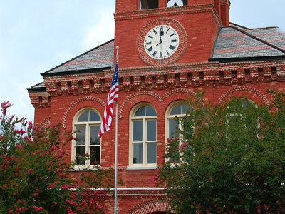 The Ascension Parish Courthouse