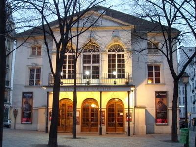 Façade Of The Théâtre De L'Atelier