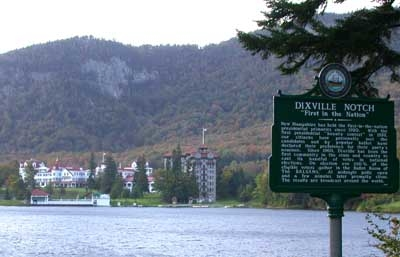 The Balsam Hotel In Dixville Notch New Hampshire