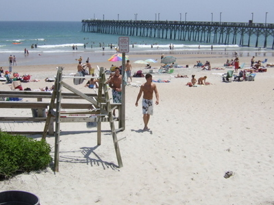 The Beach At Surf City