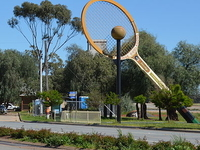 The Big Tennis Racquet