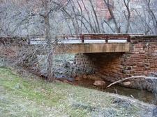 The Cable Creek Bridge - Zion - Utah - USA