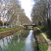 The Canal Du Midi Near Toulouse
