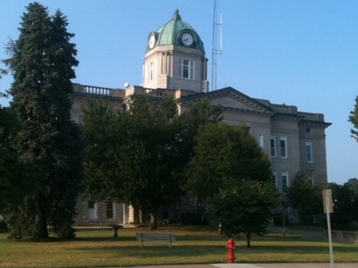 The Cape Girardeau County Courthouse In Jackson Mo