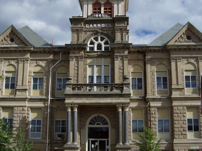 The Carroll County Courthouse Is Located In Downtown Carrollton