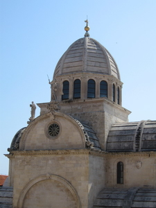 The Cathedral Dome And Sculptures