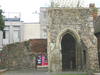 The Ruins Of The Chapel Of Thomas Becket In The Town Centre