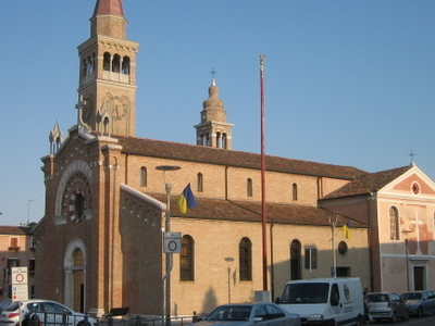 The Church Of Treporti.