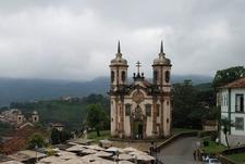 The Church Of São Francisco De Assis