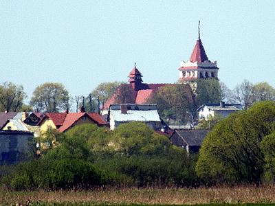 The Church Of St. Peter And St. Paul In Łapy Poland