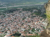 The City Of Kalabaka As Seen From Meteora.