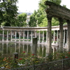 The Classical Colonnade In Parc Monceau