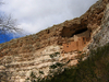 The Cliff Dwellings At Montezuma Castle National Monument