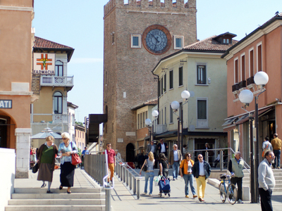 The Clock Tower In Mestre