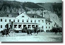 The Drill Field - Fort Yellowstone - USA