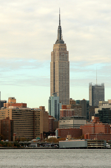 The Empire State Building As Seen From Brooklyn