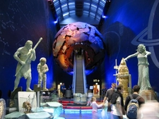 The Entrance To The Earth Galleries