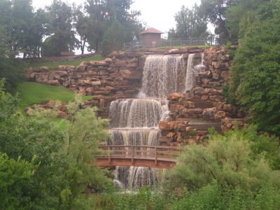 The  Falls Of The  Wichita  River