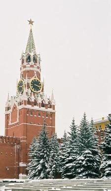 The Famous Spasskaya Towe