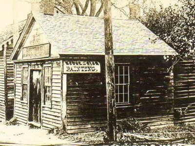 The  First  Post  Office  Greenfield