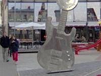 Los músicos letones paseo de la fama '