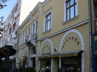 The Former Shop Of Artúr Löfkovics-Debrecen