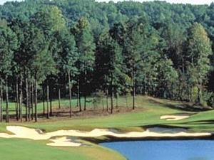 El campo de golf en el centro turístico de Georgia Frog