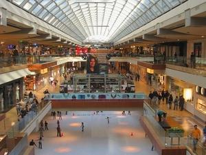 El centro comercial Galleria