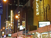Theater District At Night