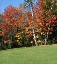 El campo de golf en el Parque Bolduc