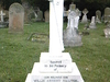 The  Gravestone Of  Lieutenant  Sillitoe