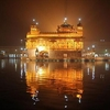The Harmandir Sahib At Night