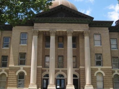 The Hays County Courthouse In San Marcos
