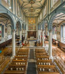 The Interior Of St Katharine Cree