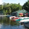 The Lake And Marina At Eagles Mere