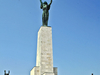 The Liberty Statue On The Gellért Hill