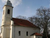 La pequeña iglesia barroca de Zirc