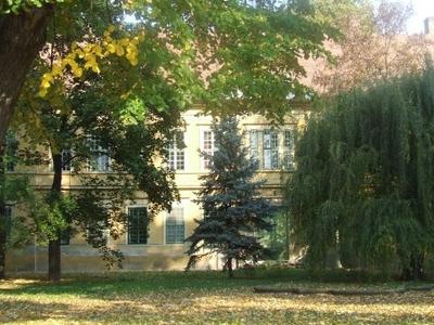 The Main Building Of The County Hospital-Kaposvár