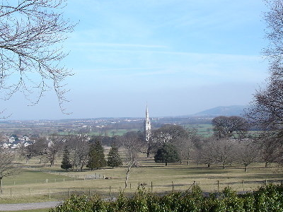 The  Marble  Church From  Bodelwyddan  Park