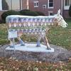 The Market Street Bridge Cow Sculpture In Harrisburg PA
