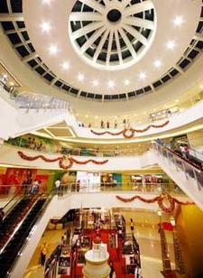 Interior Of The Mega Atrium