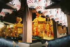 The Mikoshi Of The Yasaka Shrine