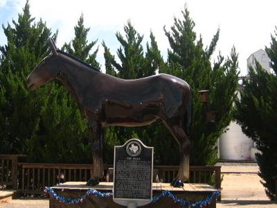 The National Mule Memorial