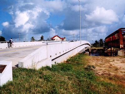 The Newly Mahaicony Bridge